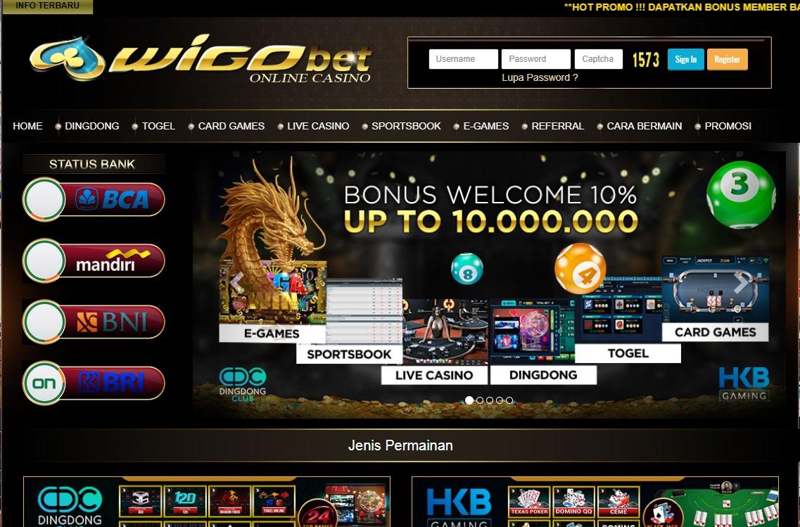 wigo bet online casino